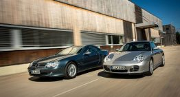 Classic challenge: Mercedes SL R230 vs Porsche 911 (996)