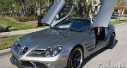 Mercedes-Benz SLR McLaren 722 Edition that belonged to Michael Jordan, for sale with 1,000 miles