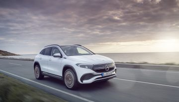 The new Mercedes EQA electric SUV is here. Official data and photos