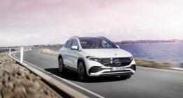 New versions: Mercedes EQA 300 4Matic and EQA 350 4Matic