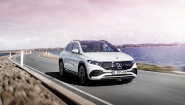 New versions: Mercedes EQA 300 4Matic and EQA 350 4Matic