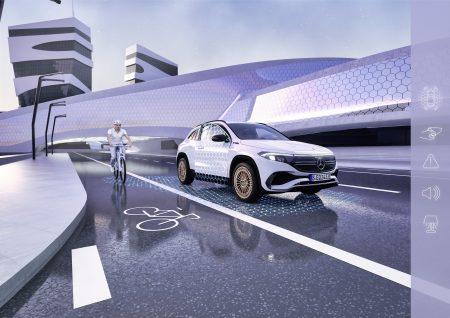 The new Mercedes EQA