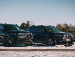 Mercedes-AMG GLS 63 meets rival Alpina BX7. Fast, powerful, luxurious