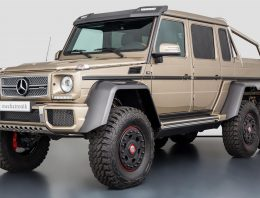An extravagant Mercedes-Benz G63 AMG 6×6 is for sale