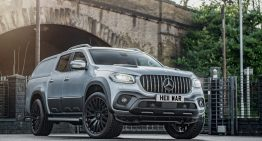 Mercedes-Benz X-Class sports license plates that cost a fortune