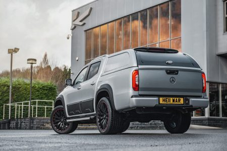 Mercedes-Benz X-Class sports license plates that cost a fortune (5)