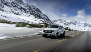 The second generation Mercedes EQC will be launch in US around 2025