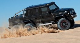 Traxxas Mercedes G 63 AMG 6×6 1:10 super RC model with 6wd
