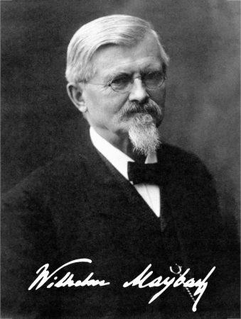 "Wilhelm Maybach: 175. Geburtstag des ""Königs der Konstrukteure""Wilhelm Maybach: 175th anniversary of the birth of the ""King of Designers"""