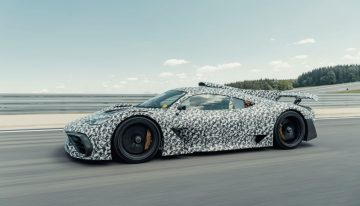 Mercedes-AMG One is almost ready for production