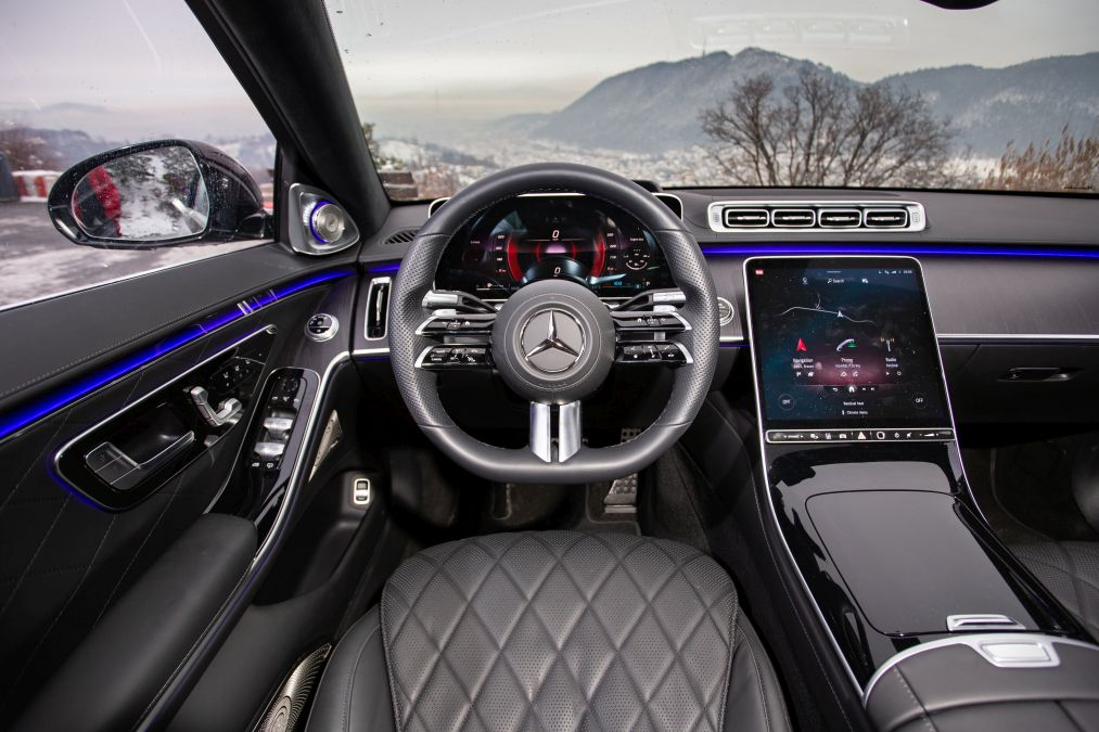 Test drive Mercedes S 500 4Matic