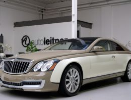 Maybach 57S Xenatec Coupe ordered by Muammar Gaddafi for sale