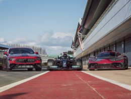 New Mercedes-AMG P3 PHEV system is able to recover energy while drifting