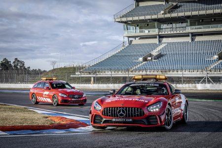 Mercedes-AMG GT R Formula 1 Safety Car and Mercedes-AMG C63 Medical Car (1)