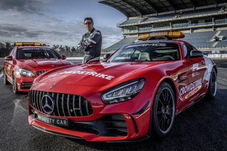 Mercedes-AMG GT R Formula 1 Safety Car and Mercedes-AMG C63 Medical Car (3)