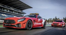 Formula 1 Safety Car and Medical Car show up in bright red this season