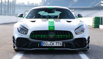 Mercedes-AMG GT R Pro laps the Hockenheim. And it is incredibly fast