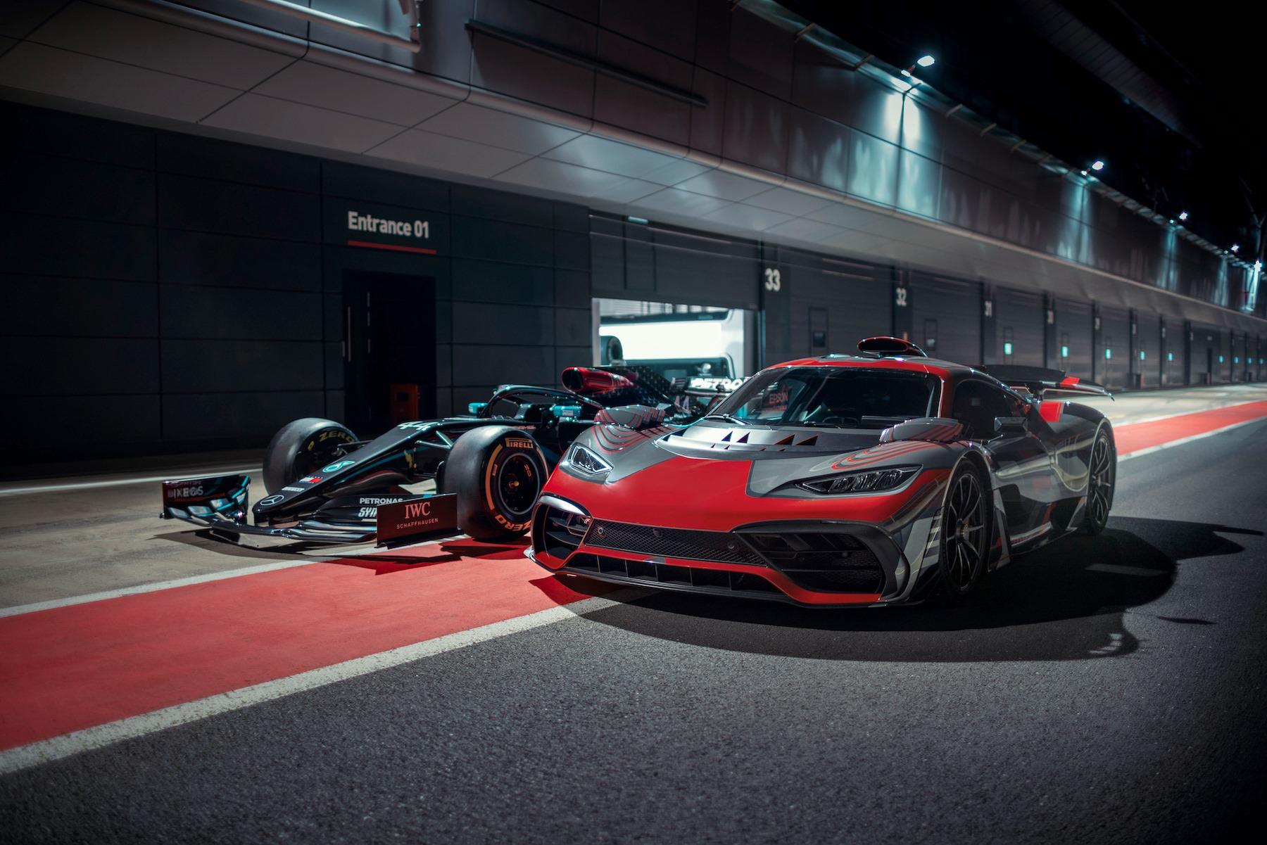 Mercedes-AMG ONE Lewis Hamilton (2)