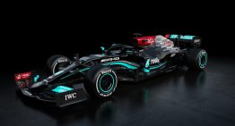 This is W12, the car Mercedes-AMG Petronas hopes will bring them the 8th consecutive title