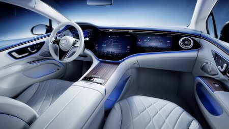The interior of the Mercedes EQS looks fabulous (6)