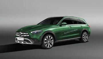 The new Mercedes C-Class All-Terrain