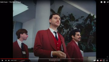 Mercedes S-Class promotes automatic parking with a fun movie with Valet Guys