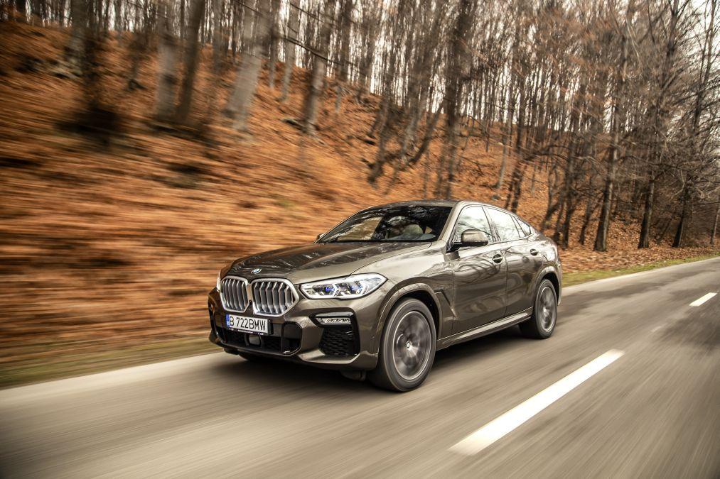 test BMW X6 xDrive 40d