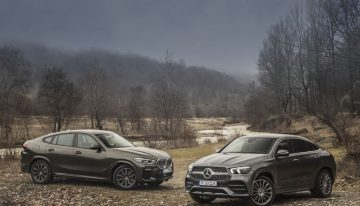 Comparative test Mercedes GLE 350 d 4Matic Coupe vs BMW X6 xDrive40d