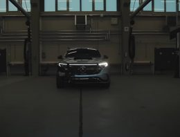 Behind the scenes – How to test a Mercedes-EQ electric car?