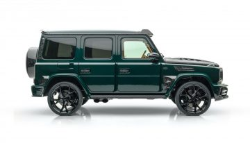 Gronos 2021 – Mansory built a half a million euro G-Class