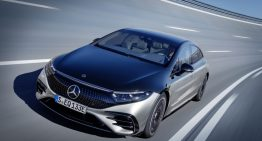 Official: New Mercedes EQS with up to 770 km range and integral steering as standard