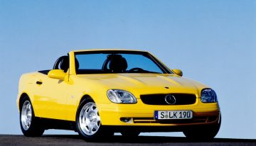 25 years ago, the Mercedes-Benz SLK took the industry by storm