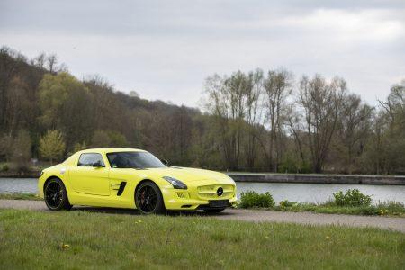 Mercedes-Benz SLS AMG Electric Drive (5)