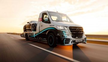 Mercedes-Benz Sprinter Petronas Edition – Here it comes to save the day!