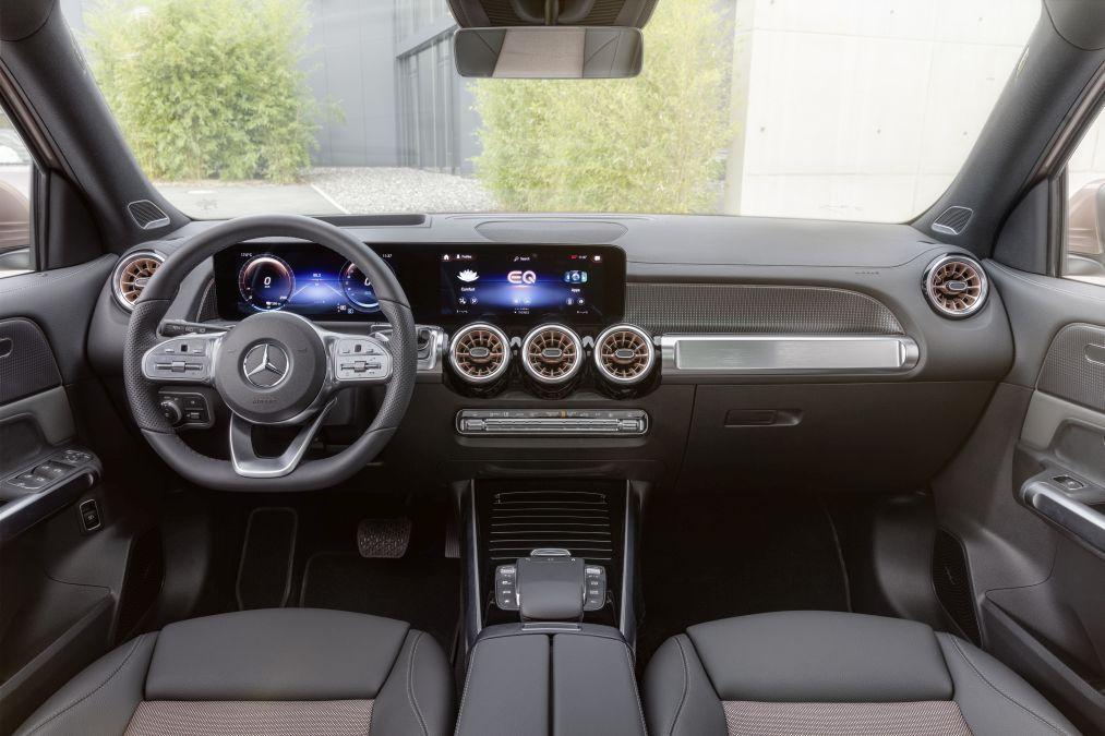 dashboard Mercedes EQB X 243, 2021