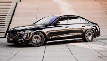 Brabus operates first tuning procedure on the new Mercedes-Benz S-Class