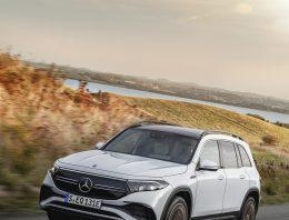 Mercedes EQB: european premiere at IAA Munich