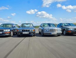 What did luxury look like 30 years ago? Classic comparison test Mercedes 420 SE, Lexus LS, Audi V8 and BMW 735i