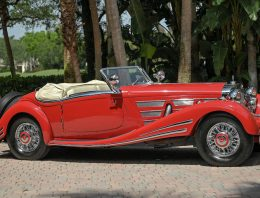1934 Mercedes 500/540K Spezial Roadster for sale at the Amelia Island Auction on May 20