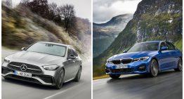First price comparison Mercedes C 180 vs BMW 318i