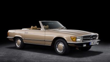 50 years ago in April 1971: world premiere Mercedes SL R107