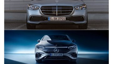 First comparison: Mercedes EQS 580 4Matic vs Mercedes S 500 4Matic long