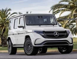 Mercedes EQG rendered. And it looks quite… electric