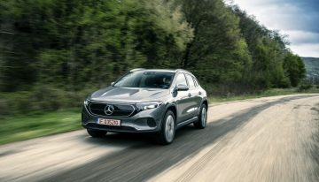 Test drive Mercedes EQA 250: as refined as a GLA