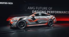 Recharge battery while drifting – The innovative tech of the future AMG models