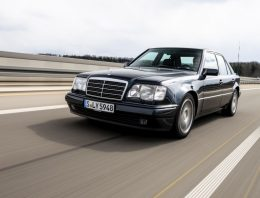 30 years Mercedes 500E made by Porsche