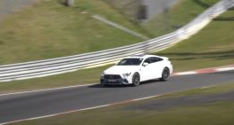 Mercedes-AMG GT 73e caught testing at the Nurburgring