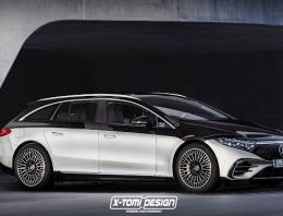 Mercedes EQS T-Model by X-Tomi Design