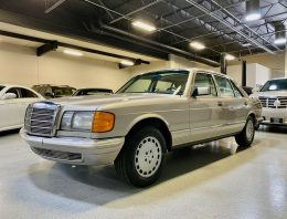 Impeccable 1985 Mercedes-Benz S-Class W126, for sale in the U.S.
