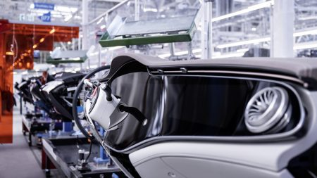 Mercedes EQS enters series production at Factory 56